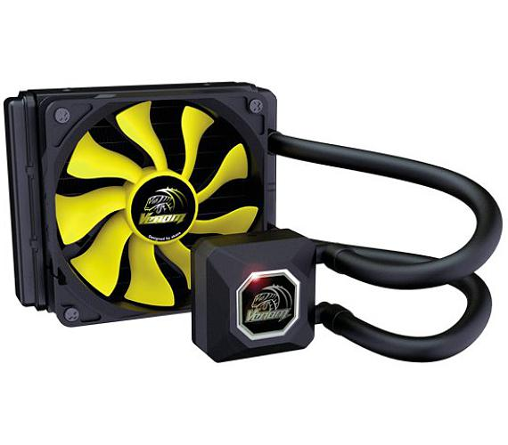 AKASA vodní chladič CPU Venom A10 / AK-LC4001HS02 / Intel LGA 115x + DOPRAVA ZDARMA