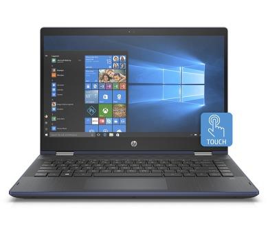 HP Pavilion 14-cd0013nc x360 FHD 4415U/8GB/256SSD/2RServis/W10-blue (4MS35EA#BCM)