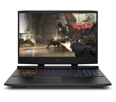 HP Omen 15-dc0003nc FHD i7-8750H/16GB/1TB+256SSD/NV/2RServis/W10-black (4KF54EA#BCM)