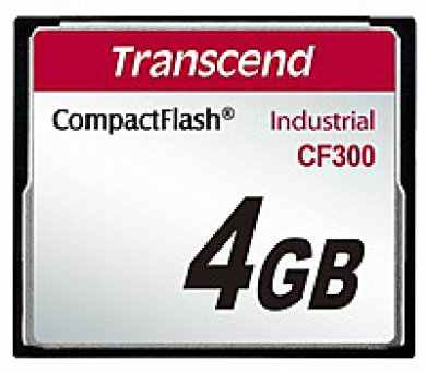 TRANSCEND Industrial Compact Flash Card CF300 4GB
