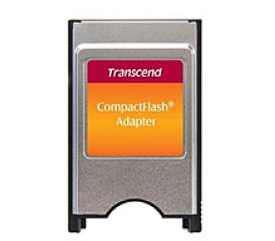 TRANSCEND PCMCIA ATA adaptér pro Compact Flash karty (TS0MCF2PC)
