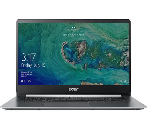 """Acer Swift 1 - 14""""/N5000/4G/64GB/IPS FHD/W10S stříbrný (NX.GXHEC.002)"""