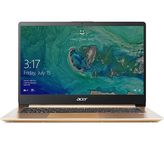 """Acer Swift 1 - 14""""/N5000/4G/128SSD/IPS FHD/W10S zlatý (NX.GXREC.002)"""