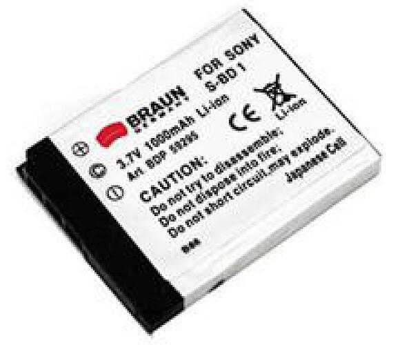 Braun akumulátor SONY NP-BD1