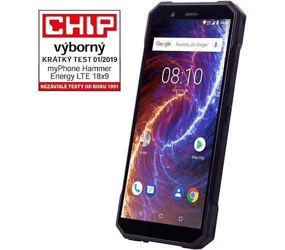 myPhone Hammer Energy 18x9 LTE černý + DOPRAVA ZDARMA