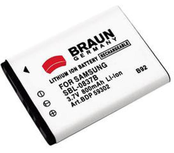 Braun akumulátor SAMSUNG SLB-0837B