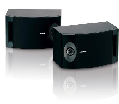 Bose 201 - černé + DOPRAVA ZDARMA
