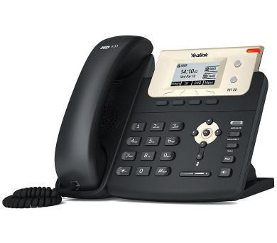 Yealink SIP-T21 E2 IP telefon/ 2x SIP/ CZ/SK displej/ 2x 10/100/ QoS/ adaptér 5V (310A861)