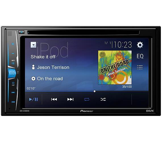 "PIONEER DVD AV systém AVH-A100DVD/ 6,2"" LCD Touch + DOPRAVA ZDARMA"
