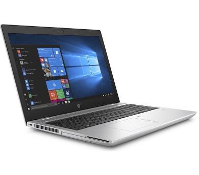 "HP ProBook 650 G4/ i7-8850H/ 16GB DDR4/ 512GB SSD/ Intel UHD 620/ 15,6"" FHD UWVA/ DVD-RW/ W10P/ stříbrný (4QZ20ES#BCM)"