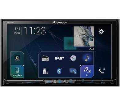 """PIONEER AV systém AVH-Z9100DAB/ 7"""" LCD Touch/ BT/ WiFi/ DVD/ DAB+/ Apple CarPlay/ Android auto/ vstup pro 2 kamery + DOPRAVA ZDARMA"""
