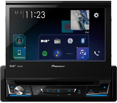 "PIONEER AV systém AVH-Z7100DAB/ 7"" LCD Touch/ BT/ DVD/ DAB+/ Apple CarPlay/ Android auto + DOPRAVA ZDARMA"