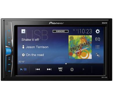 """PIONEER autorádio MVH-A100V/ RDS FM tuner/ 6.2"""" dotykový display/ USB/ 4x 50W + DOPRAVA ZDARMA"""