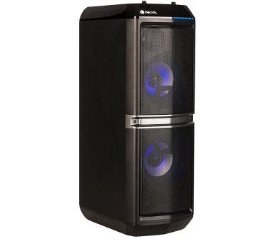 NGS SKYHOME/ BT repro/ 200W/ FM/ USB/ DO/ Černé