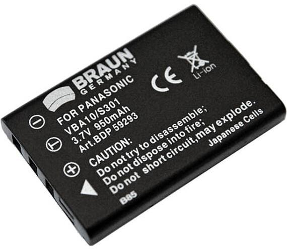 Braun akumulátor FUJI NP-60
