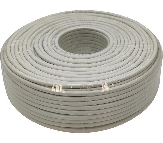 AMIKO koaxiální kabel RG6 CCS DS - balení 100m