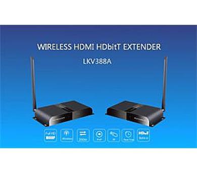 Zircon HDMI WI-FI extender - přenos HDMI vzduchem až na 200 m + DOPRAVA ZDARMA