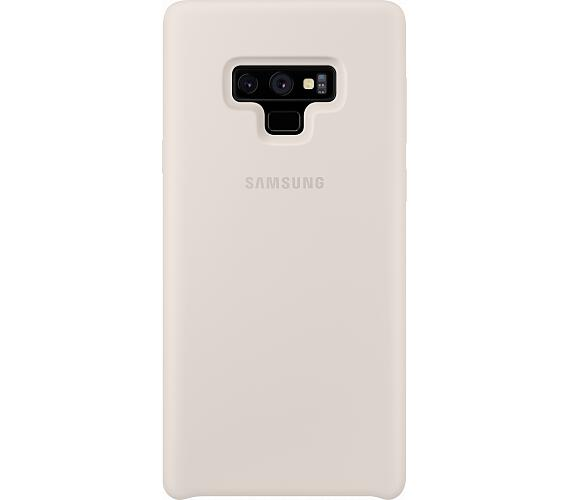 Samsung Silikonový zadní kryt pro Note 9 White (EF-PN960TWEGWW) + DOPRAVA ZDARMA