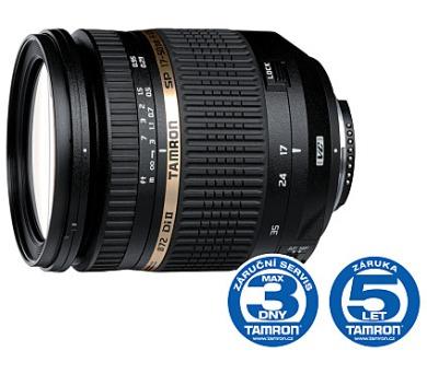 Tamron SP AF 17-50mm F/2.8 pro Nikon XR Di-II VC LD Asp. (IF) DEMO + DOPRAVA ZDARMA