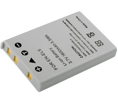 TRX baterie Nikon/ 1600 mAh/ pro Coolpix 3700/ 4200/ 5200/ 5900/ 7900/ P3/ P4/ P100/ P500/ P510/ P520/ neoriginální (TRX-EN-EL5)