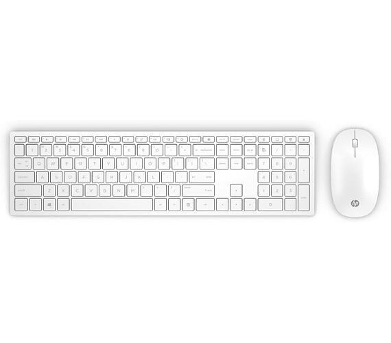 Bezdrátová klávesnice a myš HP Pavilion 800 - bílá CZ (4CF00AA#AKB) + DOPRAVA ZDARMA