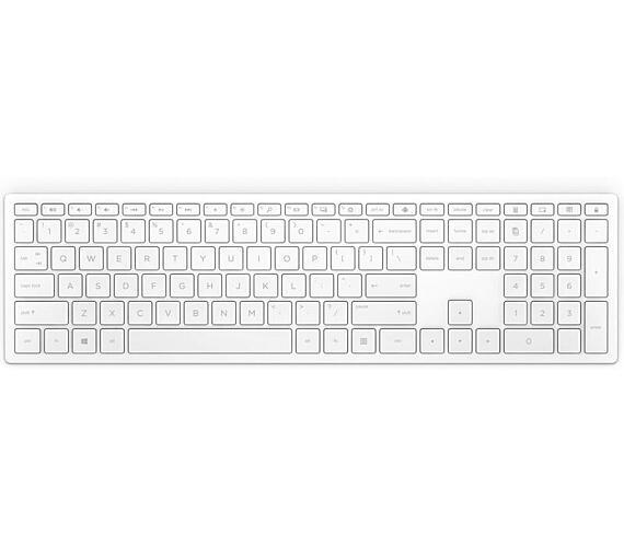 HP Bezdrátová klávesnice Pavilion 600 - bílá CZ (4CF02AA#AKB)