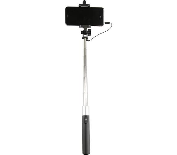 Selfie tyč MOVE 72 cm černo/stříbrná (monopod)