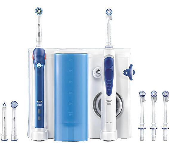 OXYJET + PRO 2000 DENTÁLNÍ CENTR. ORAL B Oral-B