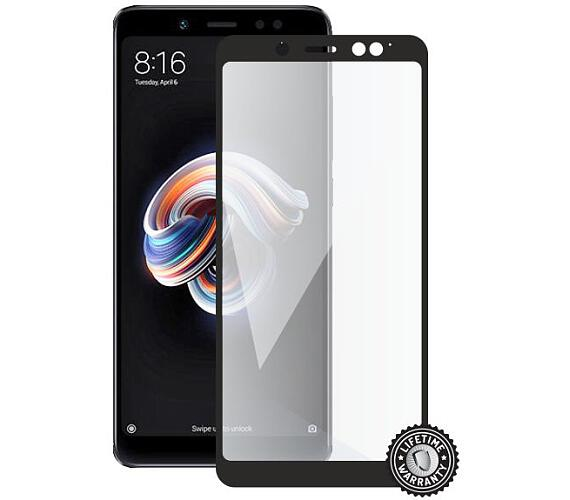 Screenshield XIAOMI RedMi Note 5 Tempered Glass protection (full COVER black) (XIA-TG25DREDNO5P-D)