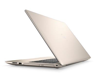 Dell Inspiron 5570 15 FHD i7-8550U/8GB/1TB+128GB SSD/530-4GB/DVD/HDMI/USB-C/W10/2RNBD/Zlatý (N-5570-N2-716G)