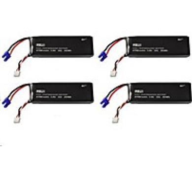 Hubsan Baterie k Dronu: H501S-29 (4ks baterií)