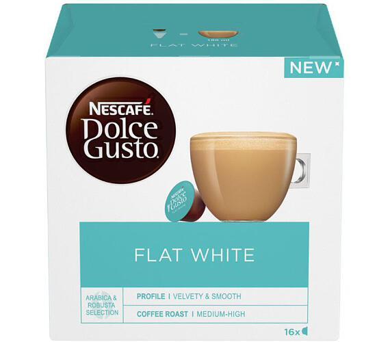 NESCAFÉ® Dolce Gusto® Flat White kávové kapsle 16 ks
