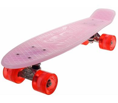 """Penny board 22"""" BURN RIDER růžový fosforeskující Sulov + DOPRAVA ZDARMA"""