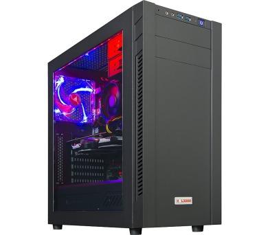 HAL3000 Ryzen 5 1060 / AMD Ryzen 5 2600/ GTX 1060/ 16GB/ 480GB SSD + 1TB/ W10 (PCHS2281)