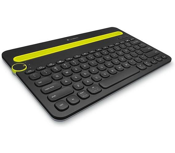 Logitech klávesnice Bluetooth Keyboard K480 (vlisováno v ČR)CZ/SK