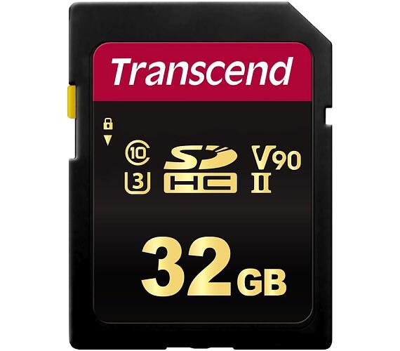 Transcend 32GB SDHC 700S (Class 10) UHS-II U3 V90 MLC paměťová karta