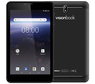 "UMAX tablet PC VisionBook 7Qa 3G/ 7"" IPS/ 600x1024/ 1GB/ 8GB Flash/ GPS/ micro USB/ Android 8.1 Oreo/ černý (UMM2407QA)"