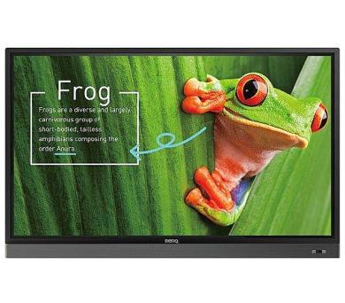 """BenQ LCD RM7501K 75"""" LED/3840x2160/1200:1/350 cd/m2/10-point touch/D-Sub/4xHDMI/4xUSB/VESA/Low Blue Light (9H.F4ATK.DE1)"""
