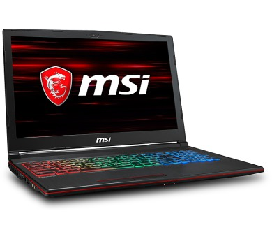 MSI GP63 8RE-627CZ Leopard /i7-8750H Coffeelake/16GB/128GB SSD + 1TB HDD/GTX 1060