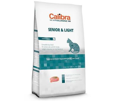 Calibra Cat HA Senior & Light Turkey NOVÝ 7 kg