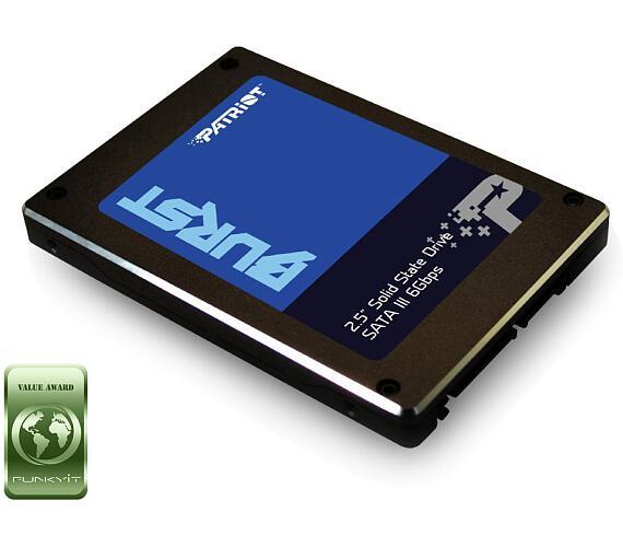 "PATRIOT BURST 960GB SSD / Interní / 2,5"" / SATA 6Gb/s / (PBU960GS25SSDR)"