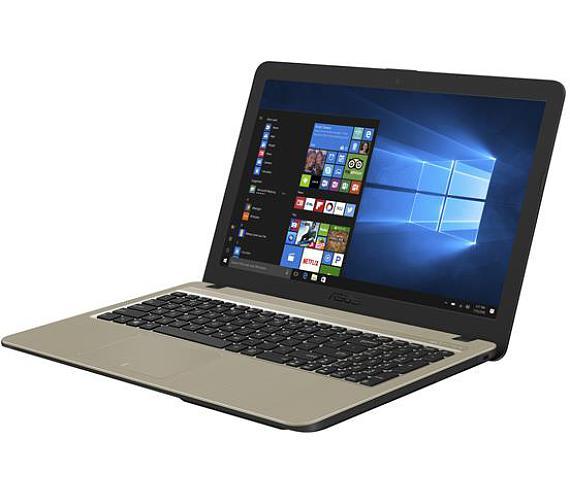 """ASUS X540NA-GO230T Pentium N4200/4GB/128GB SSD/HD Graphics 505/DVDRW/15,6"""" HD lesklý/W10 Home/Black + DOPRAVA ZDARMA"""