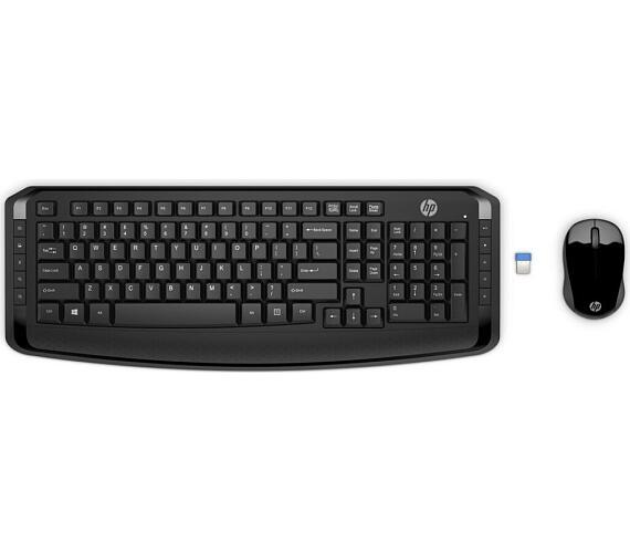 HP Wireless Combo 300 – KEYBOARD – anglická (3ML04AA#ABB)