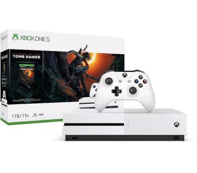 XBOX ONE S 1 TB + Shadow of Tomb Raider (234-00783)