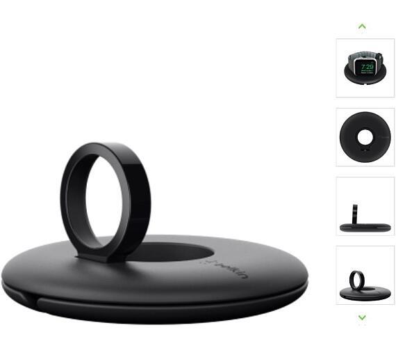 Belkin cestovní držák pro Apple Watch s možností nabíjení