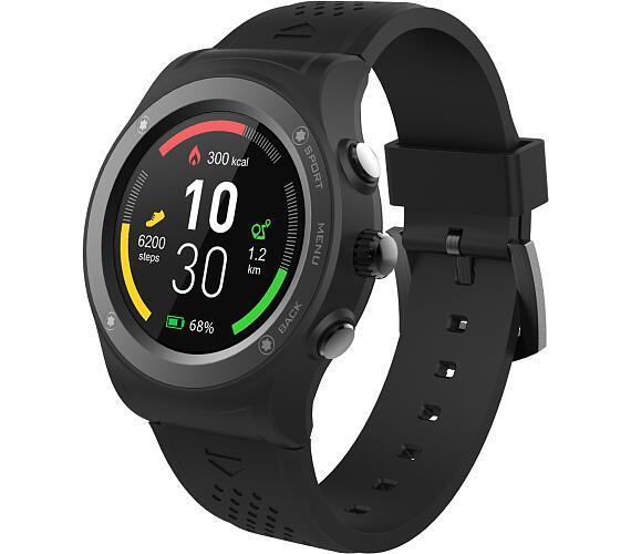 iGET ACTIVE A6 Black - chytré hodinky