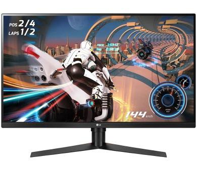 """LG Gaming monitor 32GK850F / 31,5"""" / VA / 2560x1440 / 16:9 / 400cd/m2 / 5ms / 144Hz / DP/ HDMI / USB (32GK850F-B.AEU)"""