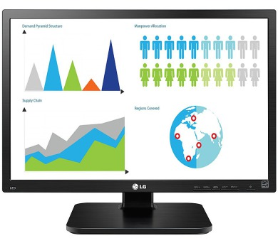 "LG IPS monitor 24BK55WY-B / 24"" / 1920x1200 / 16:10 / 300cd / 5ms / D-SUB / DVI / DP / USB / pivot (24BK55WY-B.AEU)"
