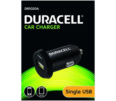 Duracell - USB Auto-nabíječka černá (DR5020A)