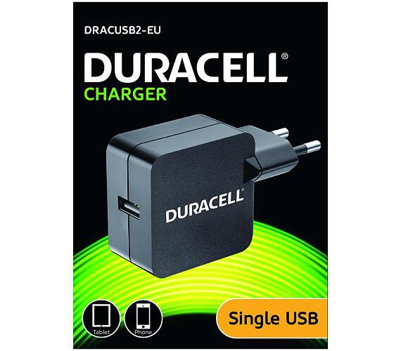 Duracell USB Nabíječka pro tablety & telefony 2,4A (DRACUSB2-EU)